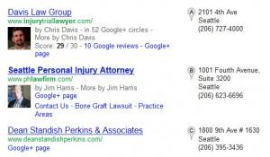 به زبان گوگل سخن بگوییم - آدرس در نتایج جستجو محلی