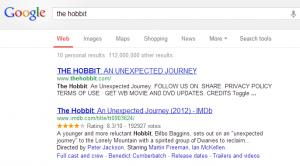 به زبان گوگل سخن بگوییم - Hobbit The Movie