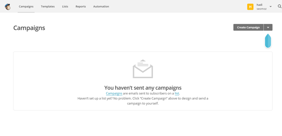Campaigns---MailChimp