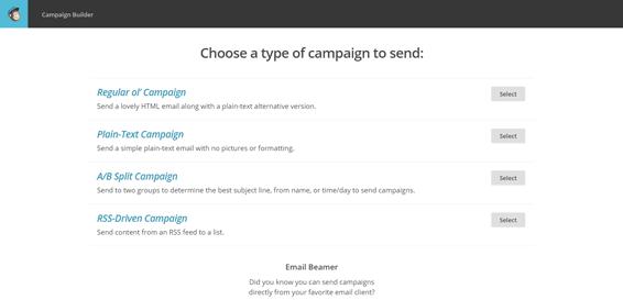 Create-Campaign---MailChimp