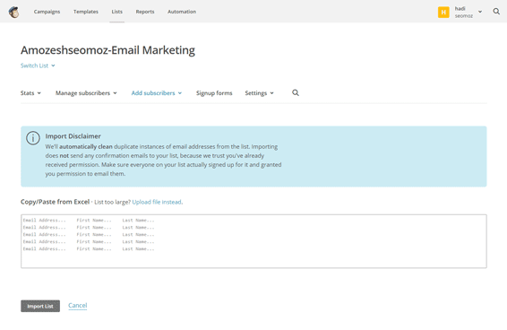 Import-New-Subscribers---MailChimp