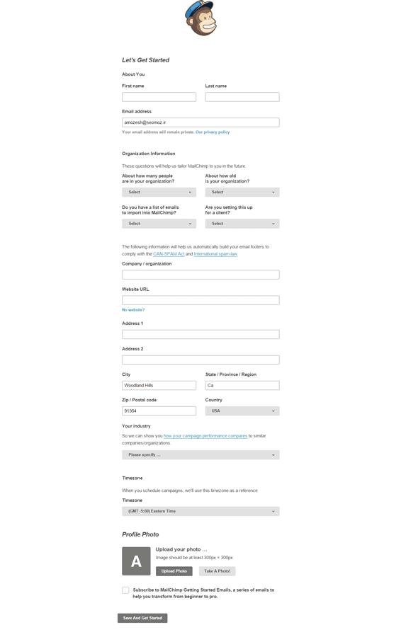 Let-s-Get-Started---MailChimp