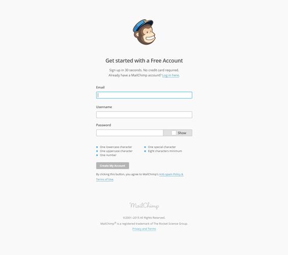 MailChimp---Signup