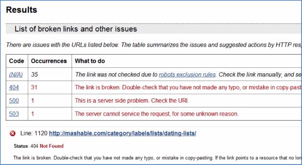 Mashable-Link-Check-Result-2-لینک