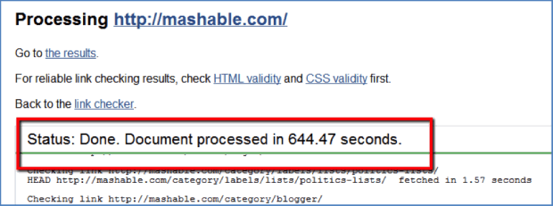 Mashable-Link-Check-Result-لینک