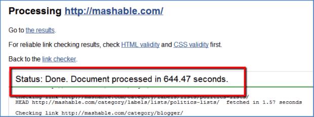 Mashable-Link-Check-Result-لینک