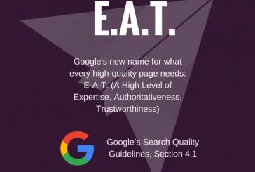 گوگل برای نویسندگان حرفه ای دستور العمل دارد !