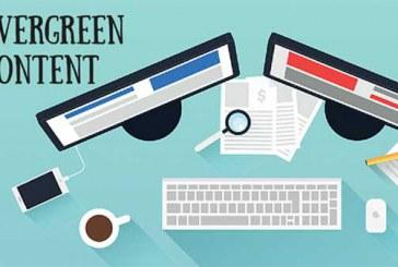 چرا باید محتوای طولانی و همیشه سبز تولید کنید