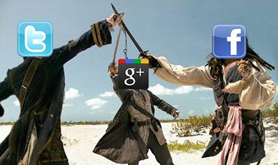 شبکه های اجتماعی فیسبوک توییتر گوگل پلاس