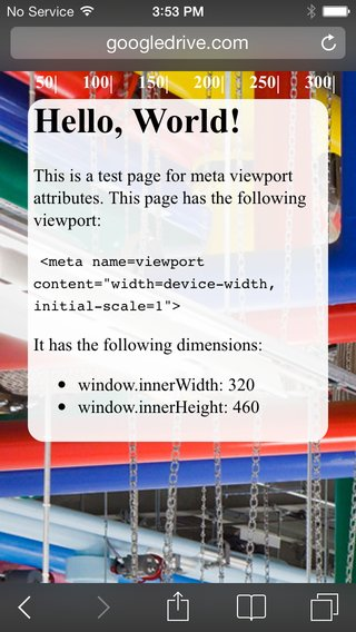 Configure the Viewport