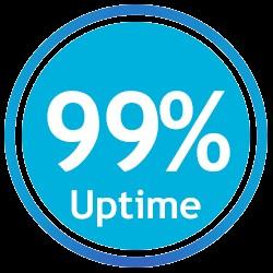 99 درصد تضمین آپتایم در نت افراز
